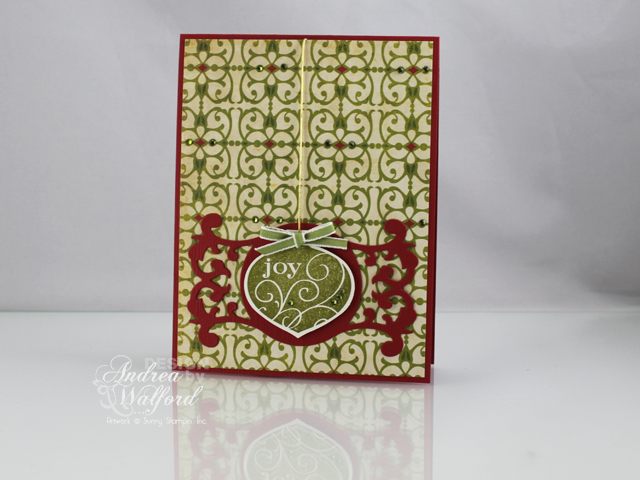 Christmas Ornament Card by Andrea Walford