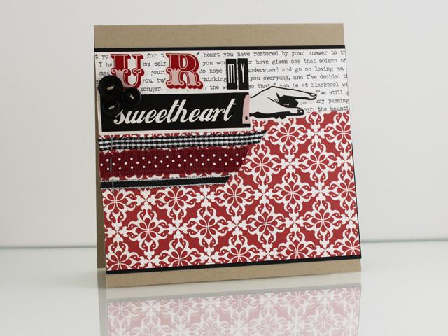 UR My Sweetheart Card