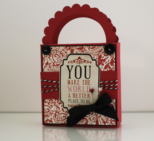 Yours Truly Valentines Tote