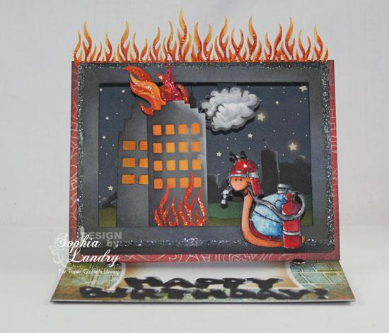 FiremanSnailShadowBoxEaselCard-01032013