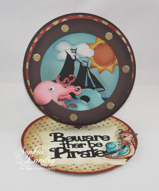 PirateSnailShadowBoxEaselCard-01222013-550W