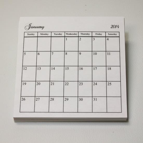 Calendars2014-550W