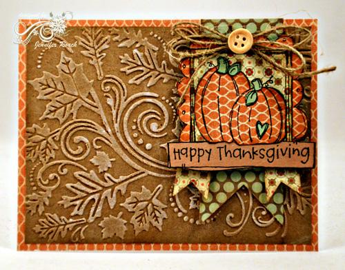 1010Jen Roach - POD Happy Thanksgiving card
