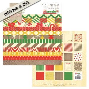 Glitz design hello december paper pad