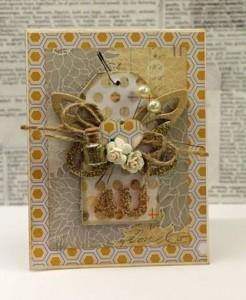 4 U butterfly card