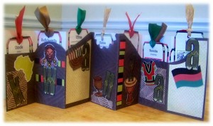 Kwanzaa Tag Book