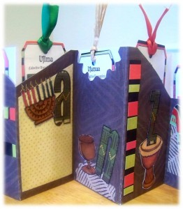 Kwanzaa Tag Book Close up 2