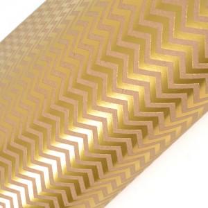 gold chevron paper