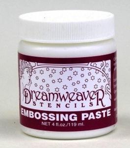 Dream weaver embossing paste at sss