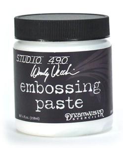 embossing whitepaste at sss