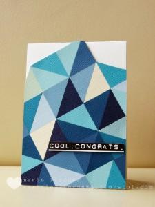 Cool. Congrats
