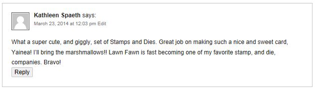 Lawn Fawn Winner