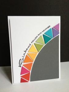 rainbow triangles 2