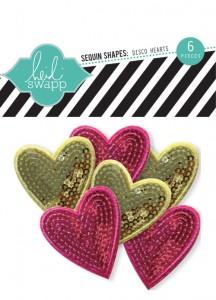 Heidi Swapp sequined hearts