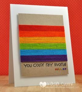 colour my world - string
