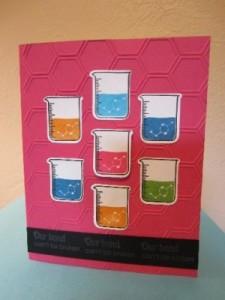 Chemistry Birthday Card by Katie Schelp