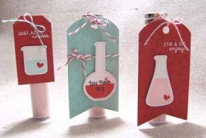 Chemistry tags by Lizzie Jones