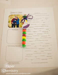 Wedding Favor Tag - Paper Chemistry