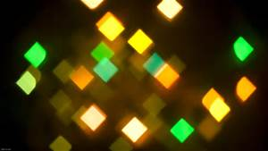 Square Diamond Bokeh Pic