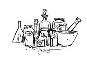 Tim Holtz Chemistry Tools