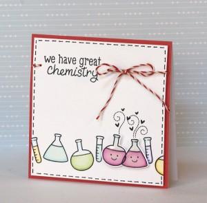 Chemistry Card by Yainea