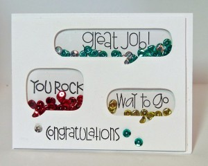 congrats shaker