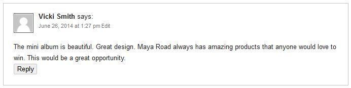 Maya Road Winner