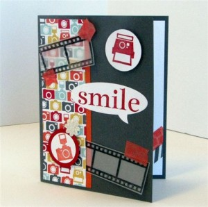 Smile Birthday Card by Julie Oliver