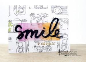 Smile Birthday Card by Savannah O'Gwynn