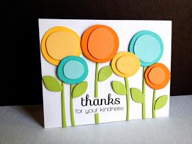 mod flower thank you