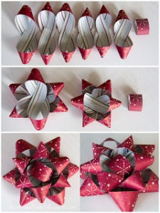 paper bow for presents