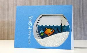 Birthday Fishes by Pamela Ho