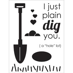 Dig You Clear Stamps by Technique Tuesday