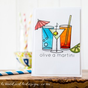 Olive a Martini by Debby Hughes