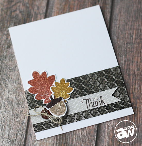 Keep It CASual 2: Fall Thank You Card