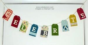 Celebrate Banner by Julie Davison