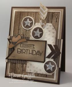Cowboy Birthday by Dawn Griffith