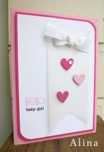 Hello Baby Girl by Alina Kelo