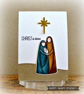 Christ is Born by Nancy Krueger