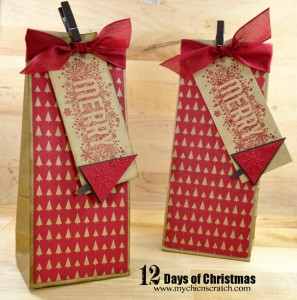 Christmas Bag and Tag by Angie Kennedy Juda