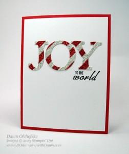 Joy to the World by Dawn Olchefske