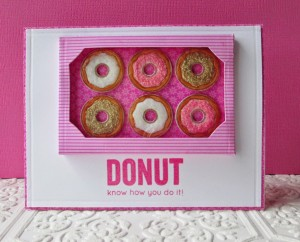 Donut Know Card by Heather Ruwe
