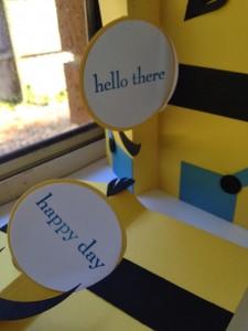 Minion Card open
