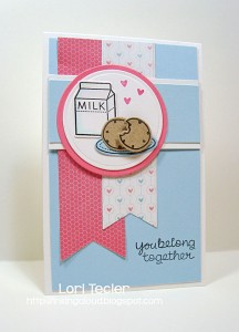 You Belong Together Card by Lori Tecler