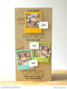 You Can Buy Cupcakes Card by Emily Leiphart