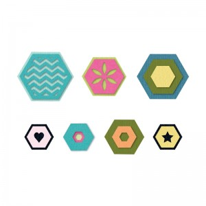 Sizzix Triplits Hexagon Die Set