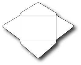 Simon Says Stamp Tiny Rectangle Envelope Die