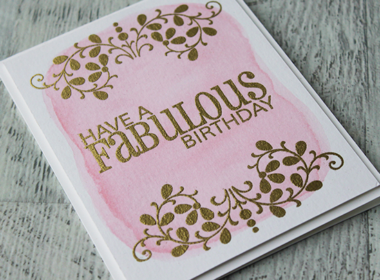Fabulous Birthday Card by Andrea Walford  - photo 2
