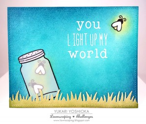 You Light Up My World by Yukari Yoshioka