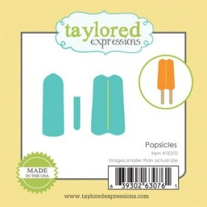 Little Bits Popsicle Die by Taylored Expressions